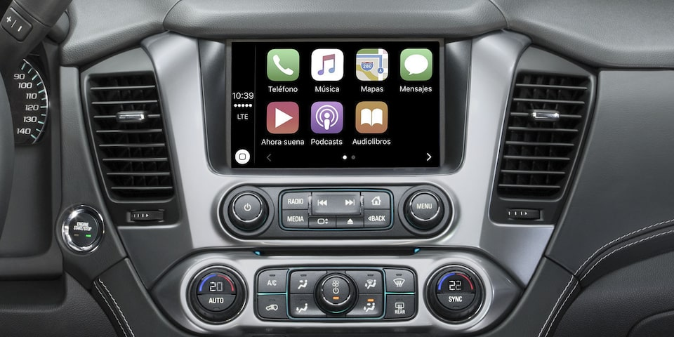 Chevrolet Tahoe 2020, camioneta grande incluye Smartphone Integration con Android Auto y Apple CarPlay